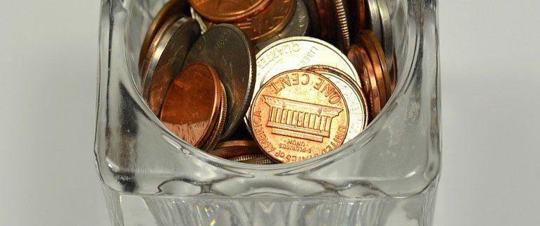 coin savings jar