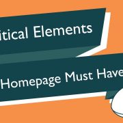 critical homepage elements