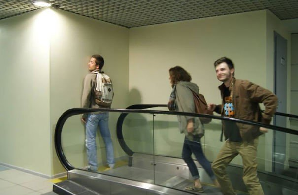 escalator design fail